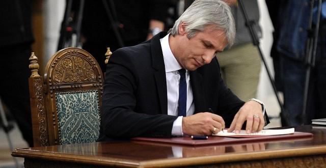 Eugen Teodorovici a semnat