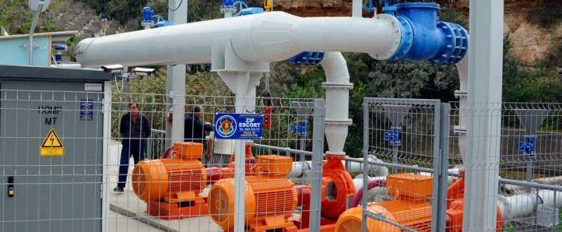 Primul sistem de irigatii alimentat din canalul Dunare - Marea Neagra a fost inaugurat la Agigea